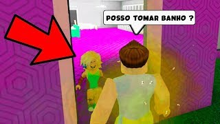 I asked you to BATHE in a CHILD's HOUSE and what she SAID will SURPRISE you.. ROBLOX