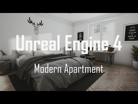 RealTime ArchViz - Modern Apartment Tour (Unreal Engine 4)