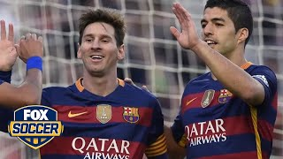 Barcelona fan and golden state warriors star harrison barnes chooses between neymar suarez