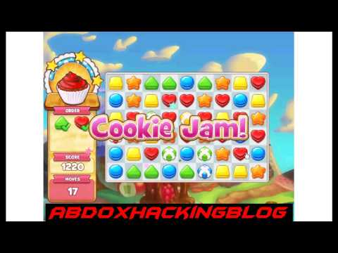 Cookie Jam Hack Match 3 Combo and Infinite Move 11.06.2015