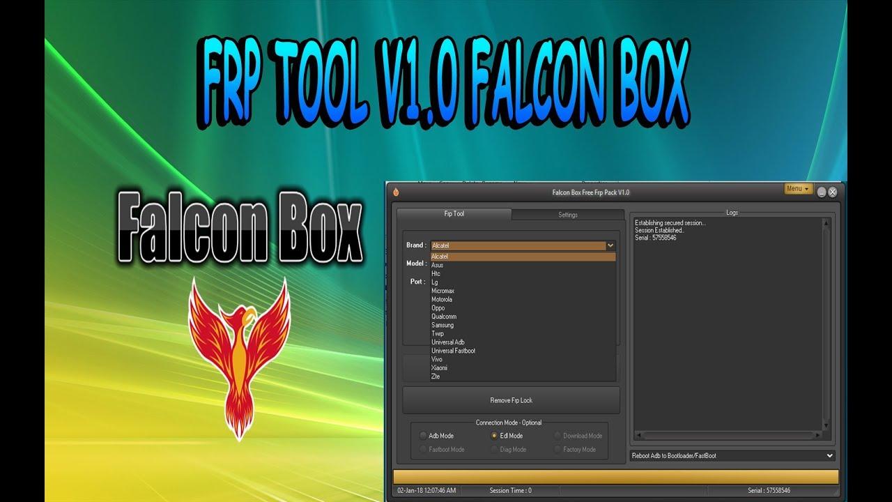 MODULO SOLO PARA FRP V1 0 FALCÓN BOX (ELIMINAR CUENTAS DE GOOGLE)