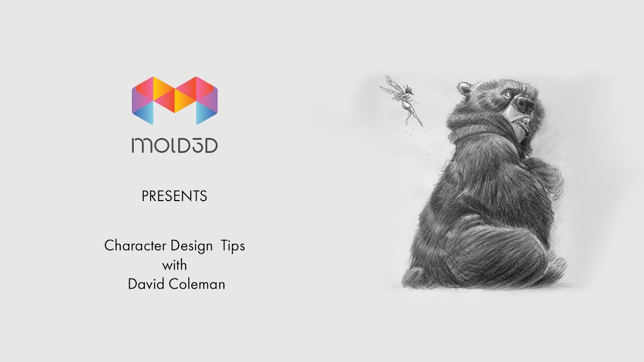 Character Design Tips With David Colman