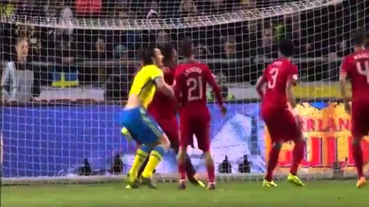 Portugal 3-2 Sweden ● All Goals & Full Highlights ● 19-11-2013 ● [HD]