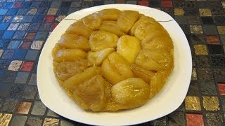 Яблочный пирог - французский перевертыш. Тарт Татен. Совместный проект  блогеров