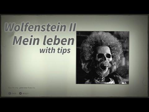 Wolfenstein II Mein leben Run with tips (without cutscenes)