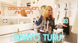 IKEA BANYO TURU #3 - BANYO DEKORASYON FİKİRLERİ - İç Mimar Sisters