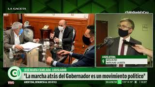 """Freno al aumento de tarifas: """"Manzur es un oportunista político"""""""
