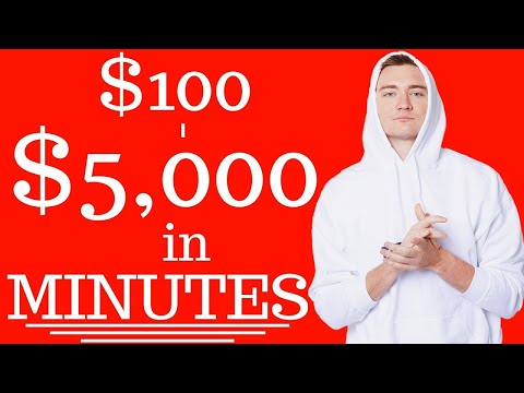 Make $100 – $5000 in JUST MINUTES! (Easy Way to Make Money Online) 💸