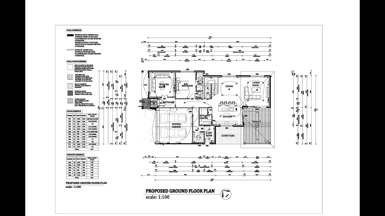 Architectural drawings and Autocad work professional service YouTube