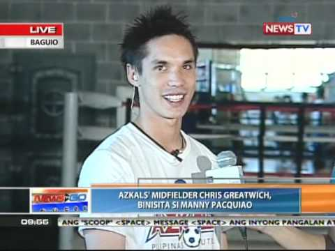 News to Go - Mark Zambrano reports on Pacquiao's Baguio ...