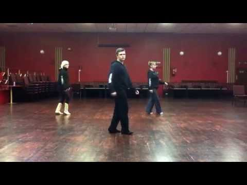 Play that funky music line dance choreographed by Nathan King for UKDC European Championships 2014