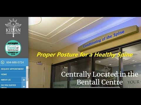 Proper Posture for a Healthy Spine |Downtown Vancouver Chiropractor | Dr. Trevor Kilian