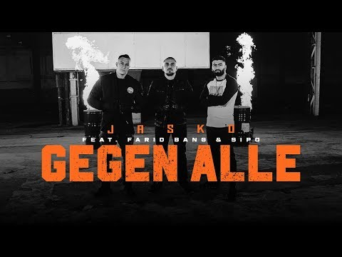 Jasko feat. Farid Bang & SIPO - GEGEN ALLE  [ official Video ] on YouTube
