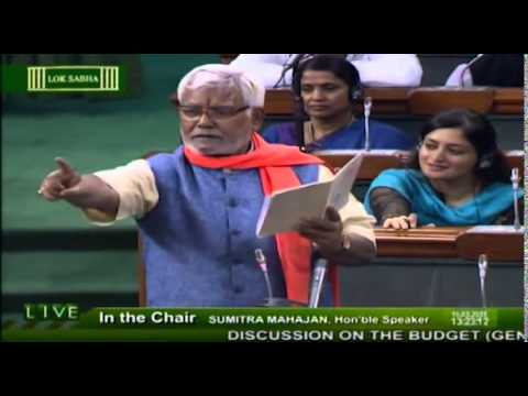BJP Hukmdev Yadav's fiery speech in Parliament gives Sonia, Rahul shocked