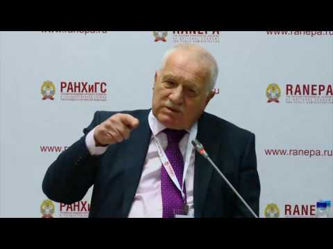 The Gaidar Forum 2017. Presentation of the book by Václav Klaus