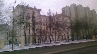 . Москва-Беговая-Полежаевская-Серебрянный бор. Поездка на троллейбусе по городу