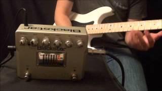 Blackstar Ht Dual Distortion Pedal Demo