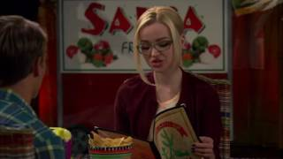 Dove Cameron is such a good actress. You can't notice the differences.