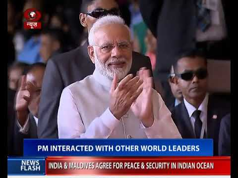 PM Modi joins swearing in ceremony  of newly elected Maldives President