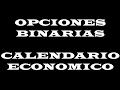 Gestion del Calendario Economico para FOREX