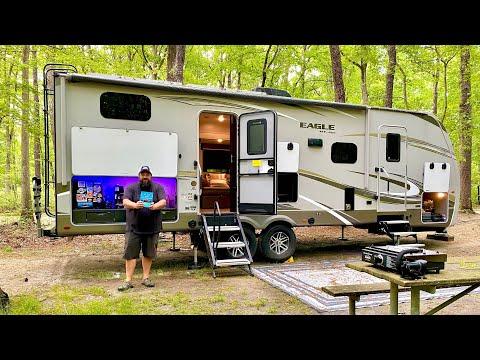 TRAILER LIFE | Walk Through Tour Jayco Eagle HT Luxury Travel Trailer
