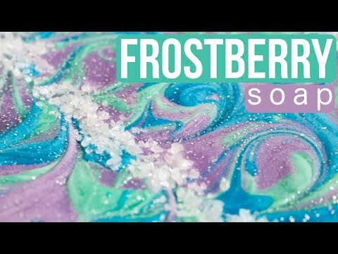 Frostberry Custom Soap with Menthol Crystals | Royalty Soaps
