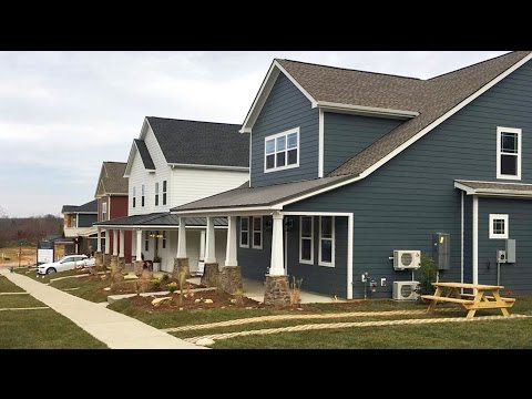 Zero-Energy Homes - Green Street Cottages (Gastonia, NC)