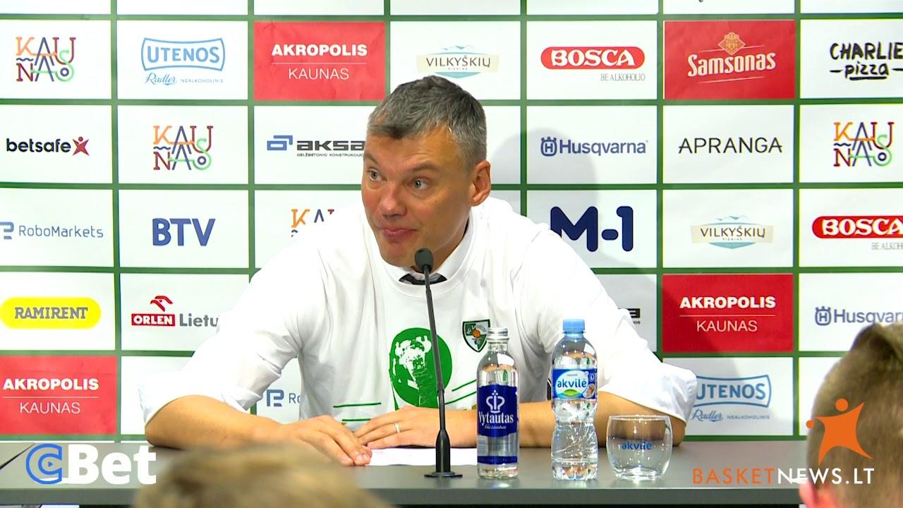 """Jasikevičius: """"Komanda žaidė kosminį krepšinį"""""""