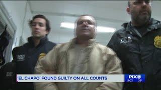 Notorious Mexican drug lord Joaquin `El Chapo` Guzman found guilty
