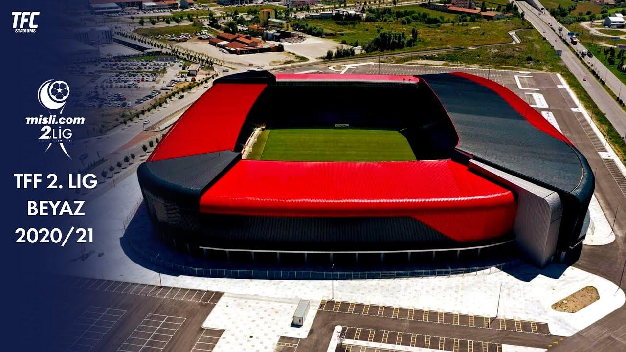 TFF 2. Lig Beyaz Group 2020/21 Stadiums