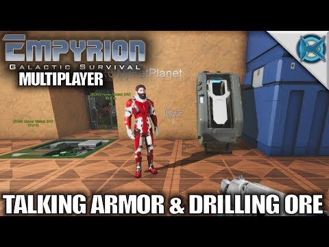 Empyrion Galactic Survival | Talking Armor & Drilling Ore | MP Let's Play Gameplay Alpha 6 | S04E04