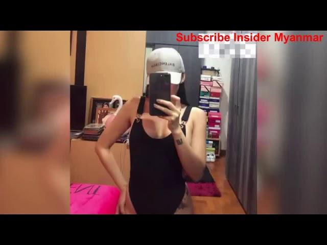 ????Sexy Thinzar Wint Kyaws Interview in Transparent Dress 2, 2018.7.16????