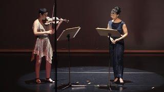 Heitor Villa-Lobos: Suite for Violin and Voice (Shie Shoji & Aisha Orazbayeva)