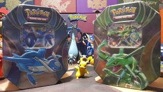 Rayquaza VS. Latios Tin Battle/Review!! MUST SEE PULLS!!!