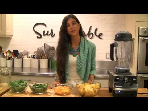 Raw Green Smoothie with Kristina of Fully Raw