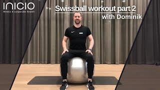SWISSBALL workout part 2