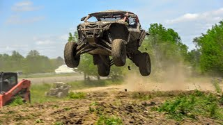 Can Am Maverick X3 Turbo Mud Wrestling - Challenge #3
