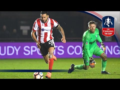 Lincoln City 1-0 Ipswich Town (Replay) Emirates FA Cup 2016/17 (R3) | Goals & Highlights