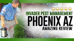Invader Pest Management Phoenix AZ Reviews - (623) 435-0228 | Pest Control Phoenix AZ