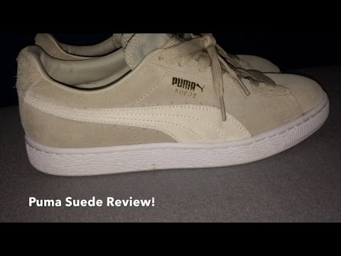 """Oatmeal"" Puma Suede Classic Review!"