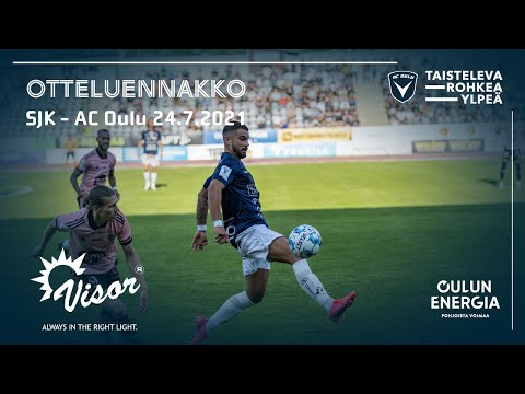ACOTV:Visor otteluennakko SJK - AC Oulu 24.7.2021 (Veikkausliiga)
