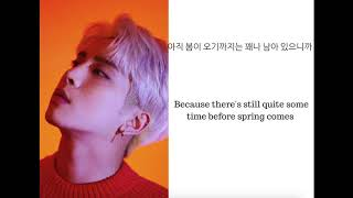 JONGHYUN (종현)  - 우린 봄이 오기 전에 (Before Our Spring) Lyrics [Eng|Han]