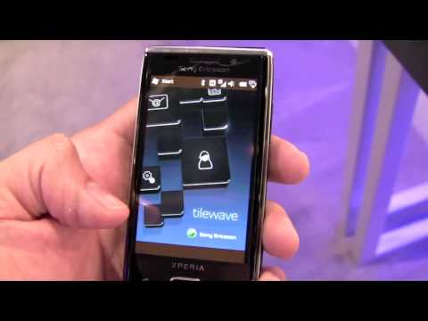 sony ericsson xperia x2 hands on demo
