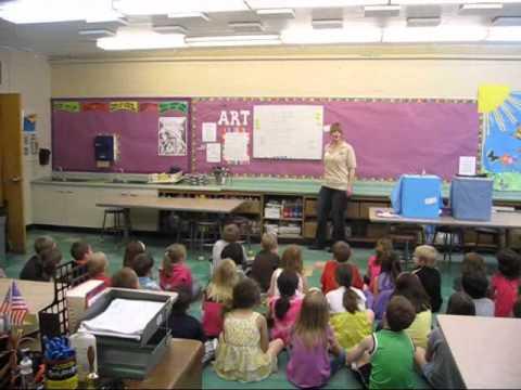 Coxsackie Elementary school First grade class