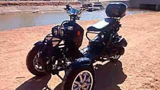 three 3 wheel motor scooter ryrus style 150cc perfect for job commute tempe scottsdale phoenix asu