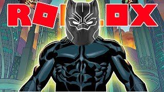 BEING THE BLACK PANTHER IN ROBLOX