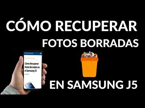 Cómo Recuperar Fotos Borradas en Samsung J5