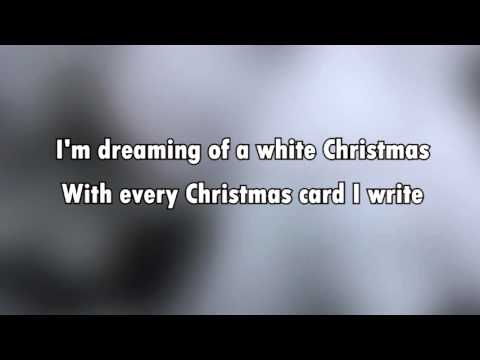 White Christmas (karaoke - lyrics)