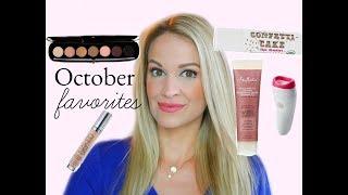 October Favorites! Makeup & Skincare