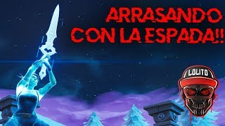 💀 ¡EL FINAL MAS ÉPICO CON LA ESPADA *20 KILLS GAME*! 💀 ~ FORTNITE